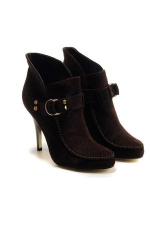 deep puple boots