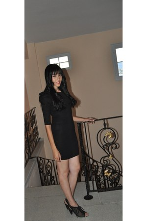black Topshopshop dress - very confi from USA shoes