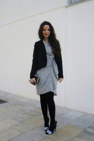 Zara heels - H&M dress - H&M jacket