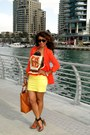 Tawny-zara-shoes-carrot-orange-2nu-jacket-light-yellow-h-m-skirt