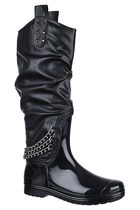 6'7 Addition Vindictive Rain Boot - Black