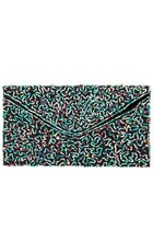 ZARA BEADED CLUTCH