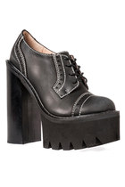 Jeffrey Campbell Skinner in Black