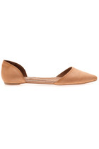 Jeffrey Campbell In Love D'Orsay Flats In Beige