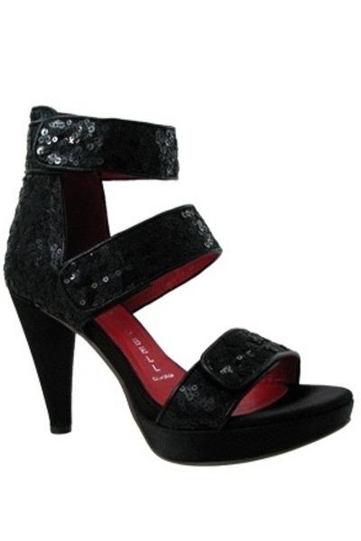 maya sequin Jeffrey Campbell heels