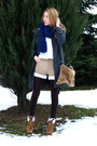 Bronze-laced-up-primark-boots-charcoal-gray-coat-ivory-vintage-shirt