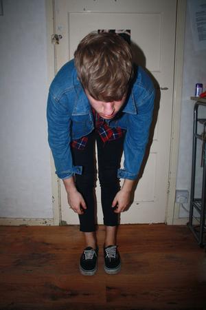 jacket - shirt - jeans
