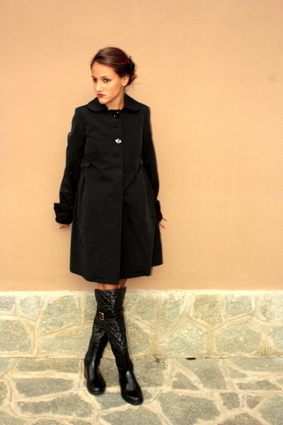 Max Mara Coats. black Max Mara coat