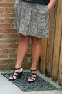 Black-shoescom-wedges-target-skirt-silver-etsy-necklace