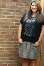 Black-charlotte-russe-top-silver-etsy-necklace-target-skirt