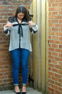 Blue-old-navy-jeans-black-sole-society-heels-ivory-couture-crush-blouse