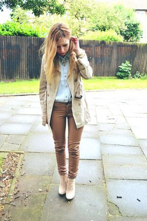 Glamorous UK shirt - asos boots - Ebay pants