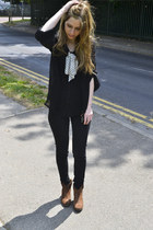 River Island boots - Topshop jeans - Yesstyle blouse