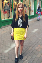 Yesstyle blouse - Primark shoes - River Island skirt