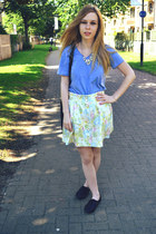 vintage skirt - Primark shoes - random brand top