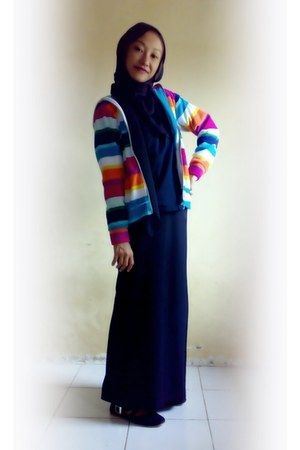 rainbow cardigan