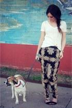 Target pants - Zara heels