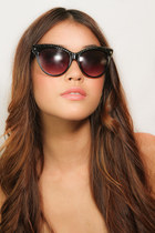Swarovski Crystal Cat Eye Sunglasses