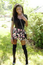 Black-forever-21-shirt-pink-forever-21-skirt-black-forever-21-tights-black