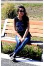 Jeans-octanos-jeans-black-koxis-t-shirt