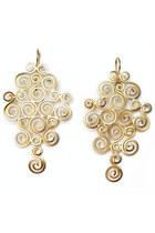 24k gold plate Accessory Foundry earrings