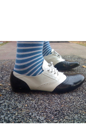 Old Navy socks - Jeffrey Campbell shoes