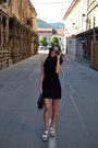 Black-h-m-dress-black-vintage-bag-black-meli-melo-sunglasses