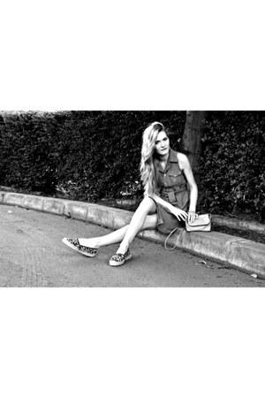H&M shoes - Rebellion dress - H&M bag