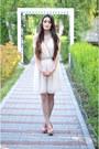 Nude-no-name-shoes-off-white-poema-dress
