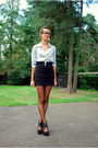 Black-new-look-shoes-black-h-m-skirt-blue-h-m-blouse-brown-panties-black