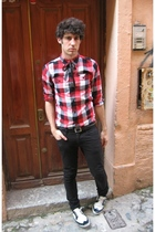 Topman jeans - H&M shirt - energie shoes