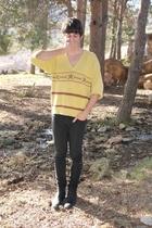 vintage sweater - Topman jeans