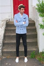 blue Topman blazer
