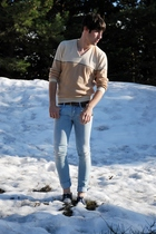 REPLAY jeans - vintage sweater