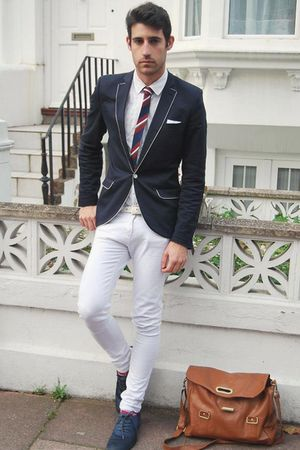 H&amp;M shoes - Topman blazer - Primark tie