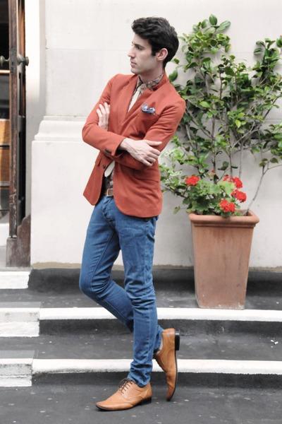 Topman pants - Primark shoes - Zara blazer - Sisley shirt - Topman tie