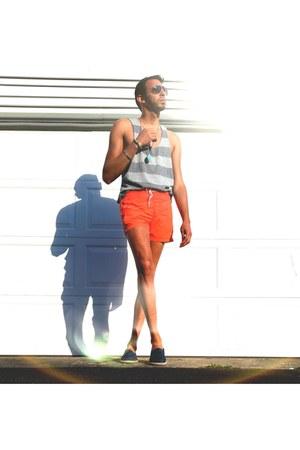orange swimwear - orange H&M swimwear