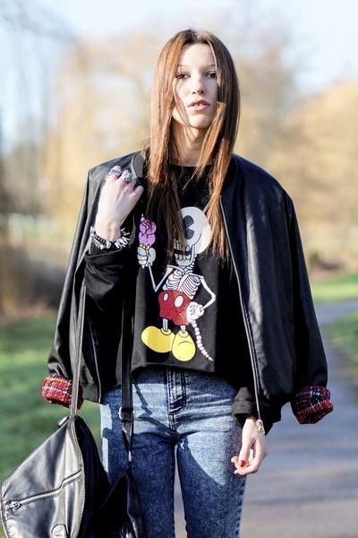 Primark jeans - jacket - sweatshirt