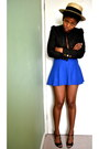 Glitter-river-island-blazer-american-apparel-skirt-peeptoe-guess-heels