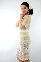 crochet Ahka Vintage dress