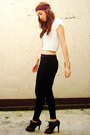 Black-people-are-people-pants-white-random-top-black-figlia-shoes