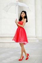 red DresseStylist dress