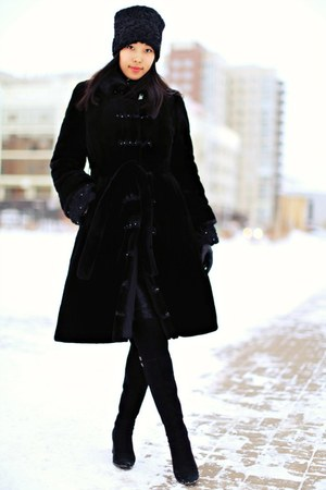 black coat