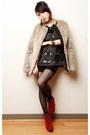 Ruby-red-belvet-nasty-gal-boots-heather-gray-fur-gap-coat-black-japan-tights