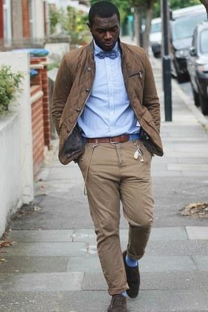 Zara jacket - Zara tie - asos belt