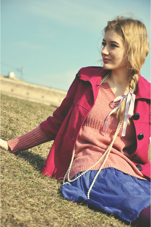 hot pink Bershka jacket