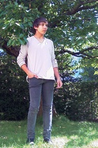 Scotch & Soda t-shirt - Cheap Monday jeans - Levis shoes