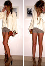 Dark-brown-jeffrey-campbell-shoes-light-brown-random-shorts-eggshell-random-