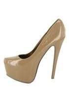 tan 5cm platform Ebay heels
