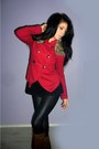Brown-random-boots-black-random-leggings-ruby-red-stradivarius-jacket-came